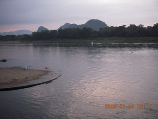 China eclipse - Guilin run
