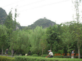China eclipse - Guilin