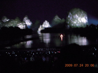 China eclipse - Yangshuo - Impression night show