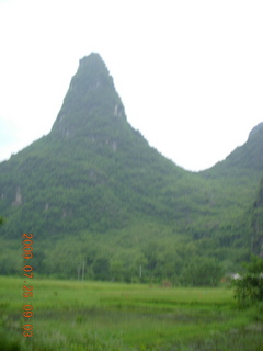 88 6xr. China eclipse - Yangshuo bicycle ride