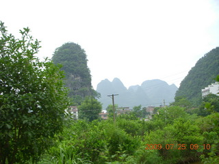 96 6xr. China eclipse - Yangshuo bicycle ride