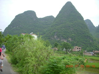 107 6xr. China eclipse - Yangshuo bicycle ride