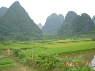 108 6xr. China eclipse - Yangshuo bicycle ride