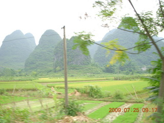 109 6xr. China eclipse - Yangshuo bicycle ride