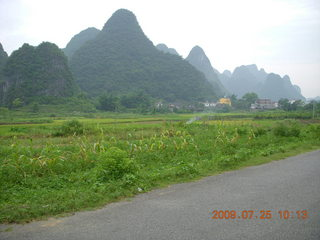 182 6xr. China eclipse - Yangshuo bicycle ride
