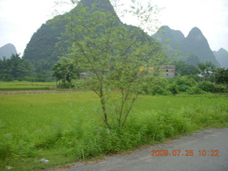 191 6xr. China eclipse - Yangshuo bicycle ride