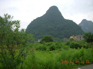China eclipse - Yangshuo bicycle ride - walk to farm village - Ling