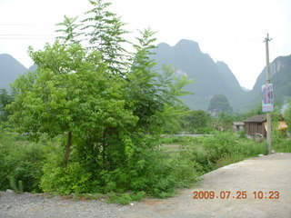193 6xr. China eclipse - Yangshuo bicycle ride