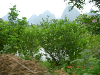 200 6xr. China eclipse - Yangshuo bicycle ride