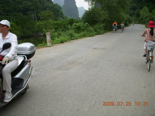 206 6xr. China eclipse - Yangshuo bicycle ride