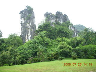 223 6xr. China eclipse - Guilin SevenStar park - Camel Mountain
