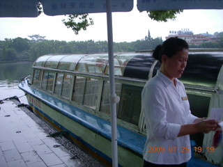 288 6xr. China eclipse - Guilin evening boat tour