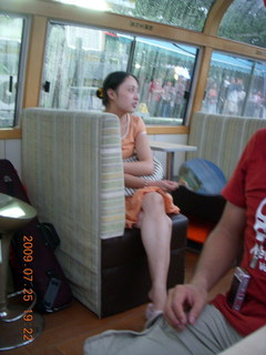 291 6xr. China eclipse - Guilin evening boat tour - Japanese tourist