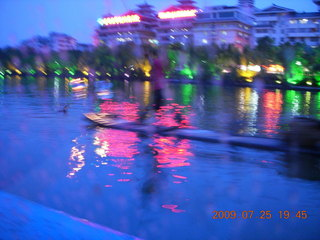 297 6xr. China eclipse - Guilin evening boat tour