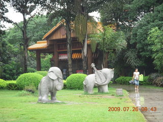 36 6xs. China eclipse - Guilin - Elephant Rock