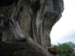 57 6xs. China eclipse - Guilin - Han park - 1000 Buddhas