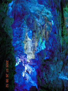 69 6xs. China eclipse - Guilin - Reed Flute Cave (really low light, extensive motion stabilization)