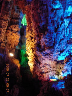 80 6xs. China eclipse - Guilin - Reed Flute Cave (really low light, extensive motion stabilization)