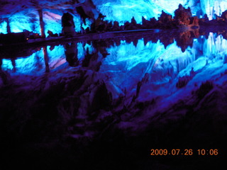 86 6xs. China eclipse - Guilin - Reed Flute Cave (really low light, extensive motion stabilization)