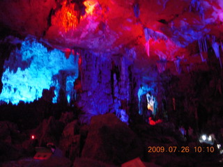 91 6xs. China eclipse - Guilin - Reed Flute Cave (really low light, extensive motion stabilization)