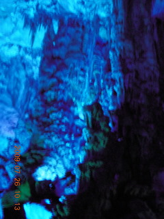 94 6xs. China eclipse - Guilin - Reed Flute Cave (really low light, extensive motion stabilization)