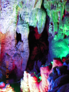 China eclipse - Guilin - Reed Flute Cave (really low light, extensive motion stabilization)