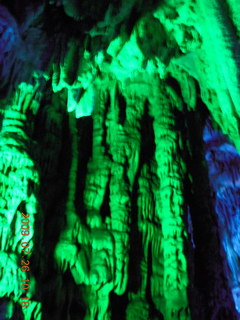 100 6xs. China eclipse - Guilin - Reed Flute Cave (really low light, extensive motion stabilization)