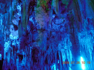 102 6xs. China eclipse - Guilin - Reed Flute Cave (really low light, extensive motion stabilization)