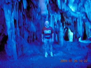 106 6xs. China eclipse - Guilin - Reed Flute Cave (really low light, extensive motion stabilization) - Adam