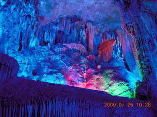 111 6xs. China eclipse - Guilin - Reed Flute Cave (really low light, extensive motion stabilization)