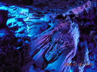 113 6xs. China eclipse - Guilin - Reed Flute Cave (really low light, extensive motion stabilization)