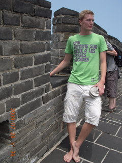 China eclipse - Beijing tour - Great Wall - Danish tourist buddy