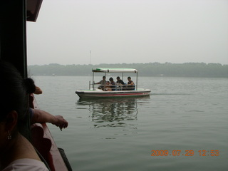 China eclipse - Beijing - Summer Palace - boat ride