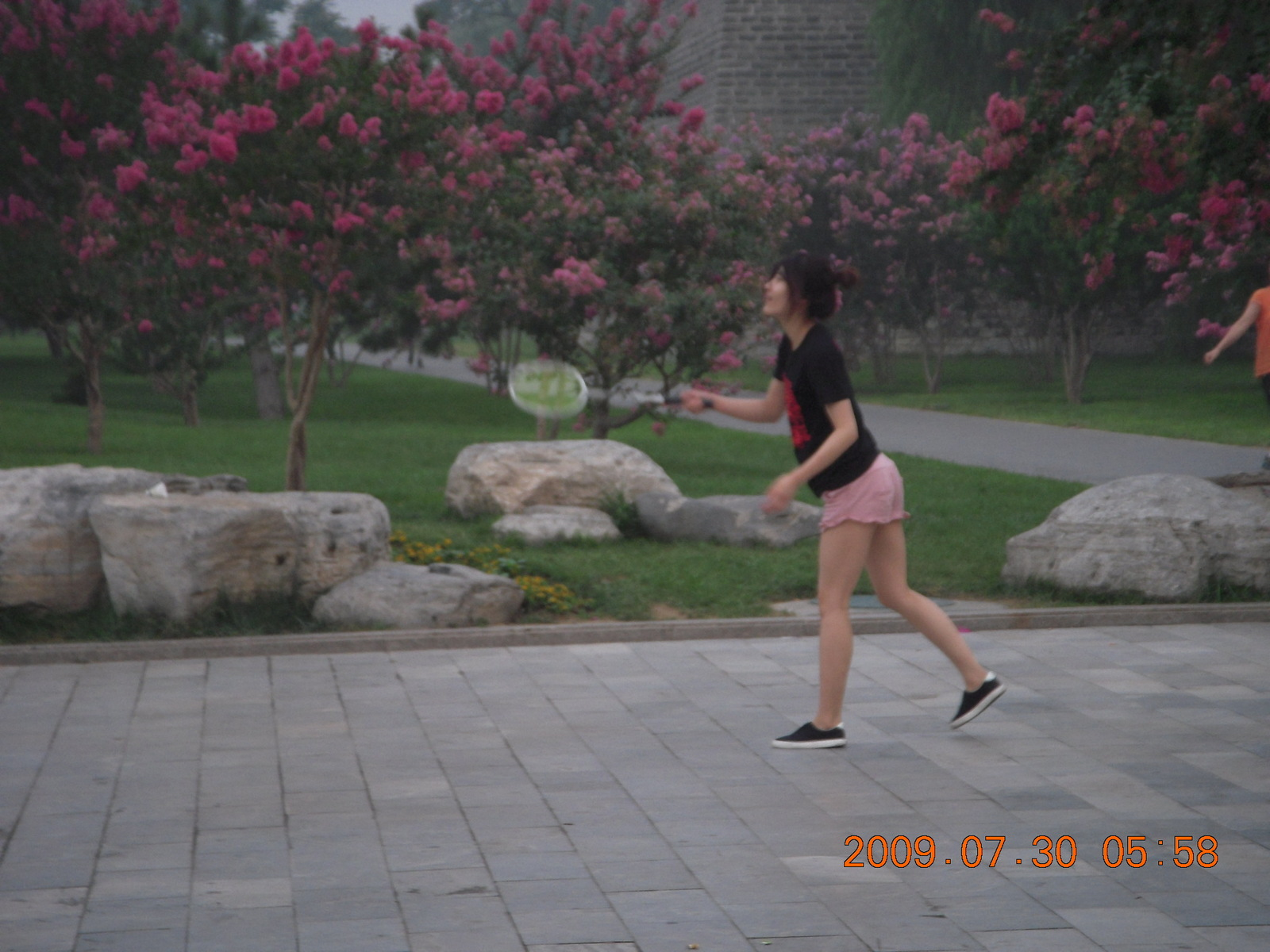 China eclipse - Beijing morning run