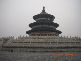 China eclipse - Beijing - Temple of Heaven sign
