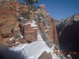 68 72q. Zion National Park - Angels Landing hike