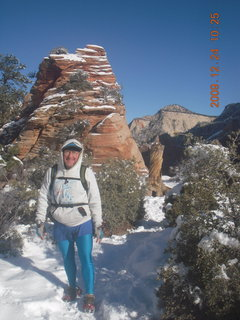 73 72q. Zion National Park - Angels Landing hike - Adam