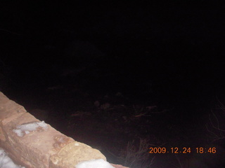 164 72q. image of moonlit riverwalk with flash